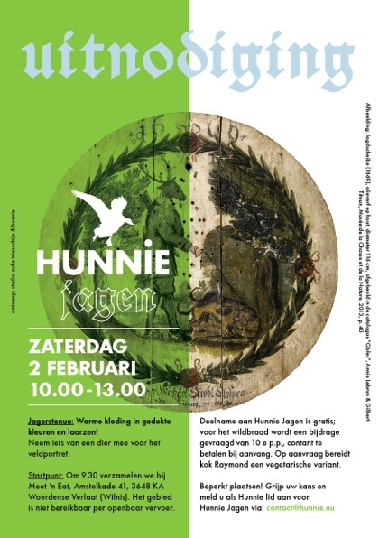 Flyer Hunnie Jagen