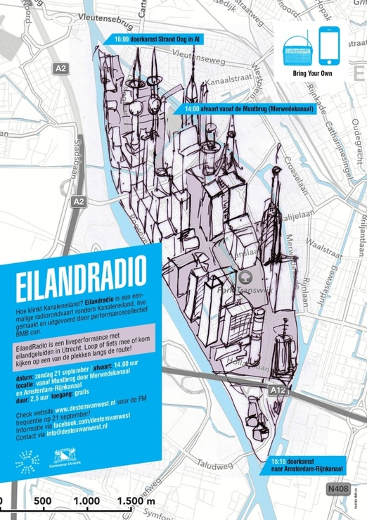 flyer Eilandradio